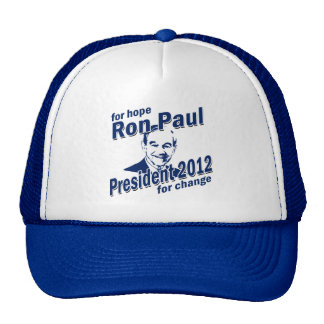 Ron Paul for Hope and Change Trucker Hat