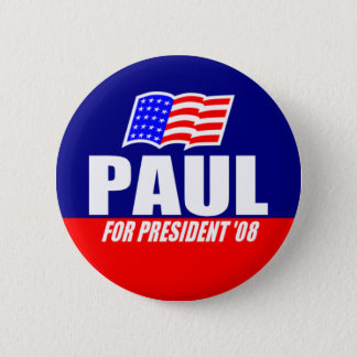Ron Paul for President 08 Button