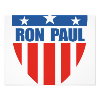 Ron Paul for President (12) Personalized Invitations