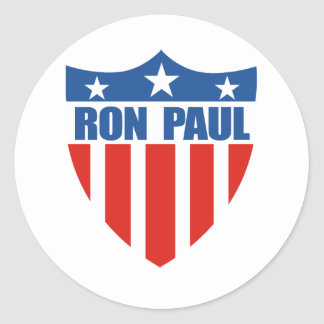 Ron Paul for President (12) Classic Round Sticker