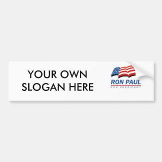 Ron Paul for President (13) Bumper Sticker