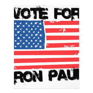 Ron Paul for President 14 Personalized Flyer