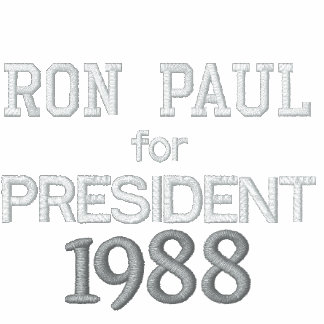 RON PAUL FOR PRESIDENT 1988 VINTAGE LONG SLEEVE