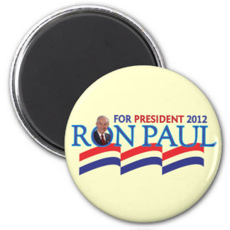 Ron Paul for President 2012 2 Inch Round Magnet