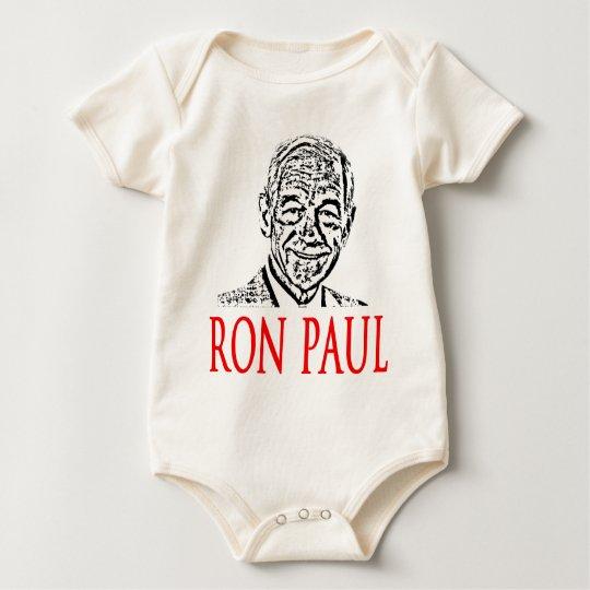 Ron Paul For President 2012 Baby Bodysuit