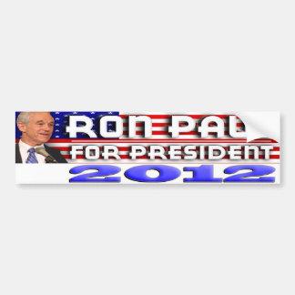 Ron Paul For President 2012 Bumper Sticker Car Bumper Sticker