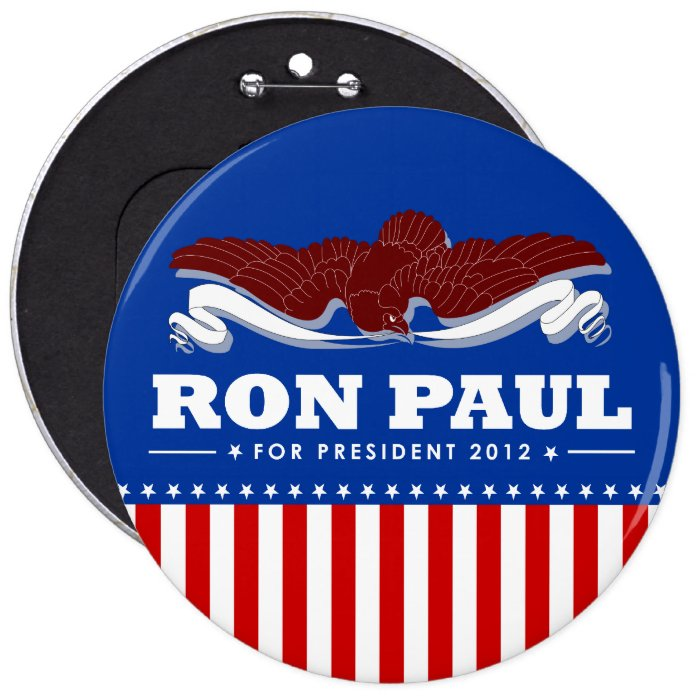 Ron Paul for President 2012 Button