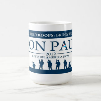 Ron Paul for President 2012 Campaign Coffee Cup
