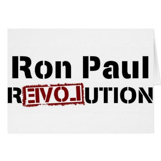 Ron Paul for President 2012 Card