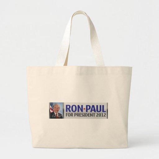 Ron Paul for President 2012 Jumbo Tote Bag