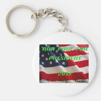 Ron Paul for President 2012 Keychain