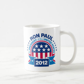 Ron Paul for President 2012 Classic White Coffee Mug