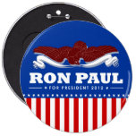 Ron Paul for President 2012 Pins
