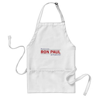 Ron Paul for President 2012 The Time is Now Adult Apron