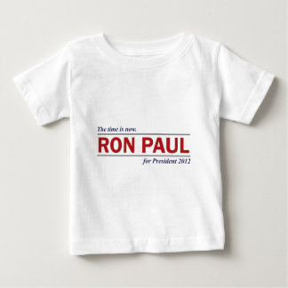 Ron Paul for President 2012 The Time is Now T Shirts