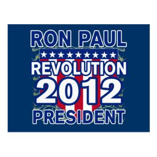 Ron Paul for President 2012 Tshirts Postcard