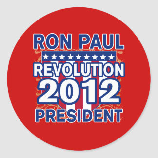 Ron Paul for President 2012 Tshirts Stickers