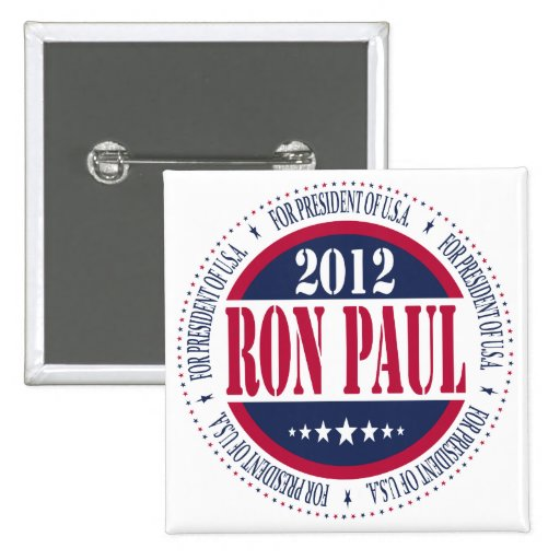 Ron Paul for President 2 Inch Square Button