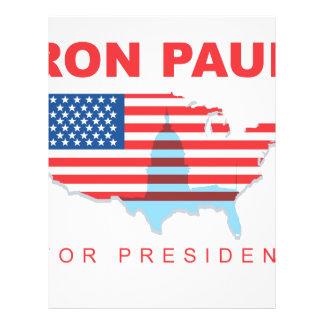 Ron Paul for President 3 Custom Flyer