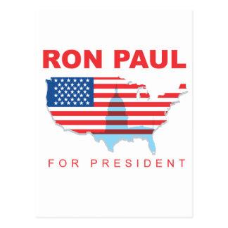Ron Paul for President (3) Postcards