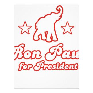 Ron Paul for President 4 Flyer Design