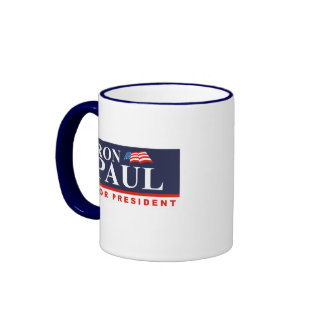 RON PAUL FOR PRESIDENT (Ban Ringer Mug