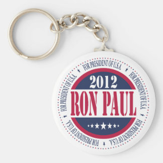 Ron Paul for President Basic Round Button Keychain