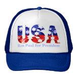 Ron Paul for President Cap Mesh Hats