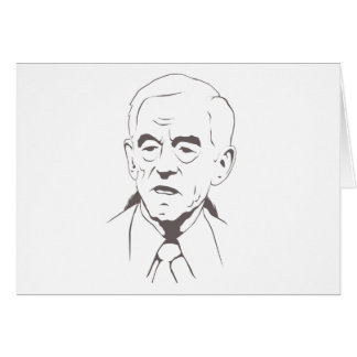 Ron Paul for president Greeting Cards