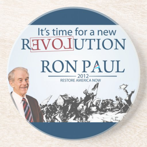 Ron Paul for President Coaster