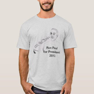 Ron Paul for President, Constitutional Candidate T-Shirt