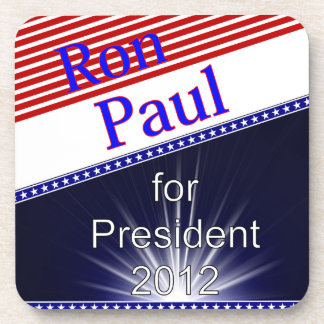 Ron Paul For President Explosion Beverage Coaster