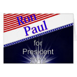 Ron Paul For President Explosion Cards