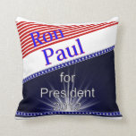 Ron Paul For President Explosion Pillows