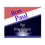 Ron Paul For President Explosion Postcards