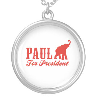 RON PAUL FOR PRESIDENT (Got Round Pendant Necklace