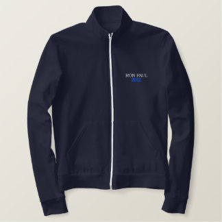 Ron Paul for President Jacket-Dark Blue Embroidered Jacket