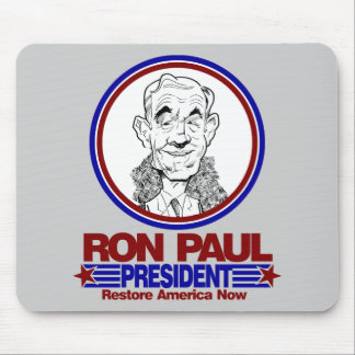 Ron Paul for President Mouse Pad