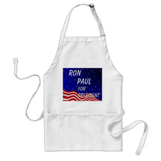 Ron Paul For President Night Sky Adult Apron