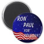 Ron Paul For President Night Sky Fridge Magnets