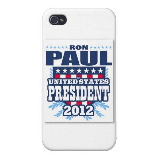 ron_paul_for_president_of_the_usa_2012_poster-p228 iPhone 4 protectores