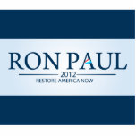 Ron Paul for President Photo Sculpture