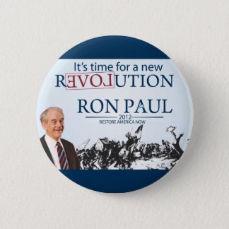 Ron Paul for President Pinback Button