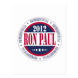 Ron Paul for President Post Cards