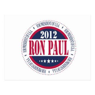 Ron Paul for President Postcard