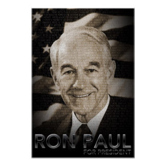 Ron Paul For President Poster