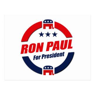 RON PAUL FOR PRESIDENT (Republican) Postcard