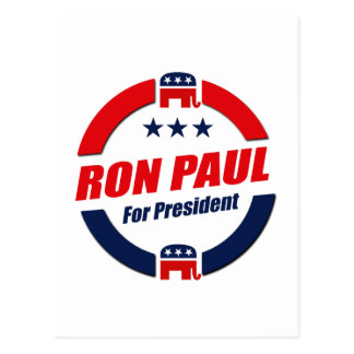 RON PAUL FOR PRESIDENT (Republican) Postcards
