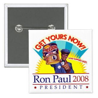Ron Paul for President Retro Button