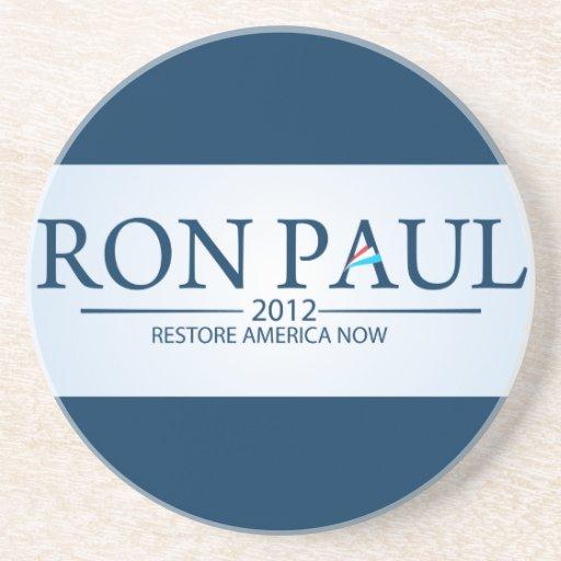 Ron Paul for President Sandstone Coaster